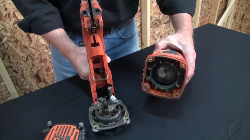 How to clean paslode cordless nailer
